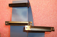 P37-7013-0368-036 IDC RIBBON CABLE ADAPTERS (2X) 50 POSITION FINE PITCH IDC SCSI
