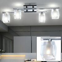 LED Wand Lampe Esszimmer Glas Chrom Strahler Küchen Beleuchtung EEK Big Light