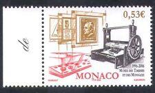 Mónaco 2006 Sellos/Imprenta/monedas/museo/animación 1v (n36091)