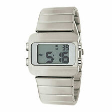 "EOS New York ""Sprinx"" Cuarzo Multifunction Digital Acero Inox Unisex Reloj"