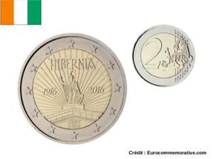 2 Euros Commémorative Irlande 2016 Hiberna UNC