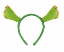 Green Ogre Shrek Fiona Ears Headband Unisex Fancy Dress Swamp Monster Accessory
