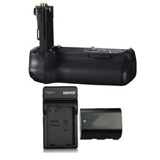 Vivitar Power Grip for Canon EOS 80D DSLR Camera + LP-E6 Battery & Charger