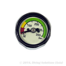Mini Scuba Diving Dive BAR Thimble Pressure Gauge Pony Tank Button