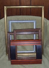 5 Crafting Wood Plastic Picture Photo Frames 12x15 10x8 7x5 Repurposing