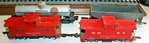 American Flyer freight car lot 408, 24309, two 630, 2 632 PLUS O GAUGE CARS.