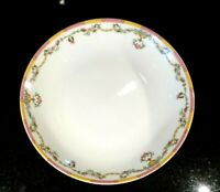 Beautiful Tharaud Limoges Cheverny Amarilla Rimmed Soup Bowl