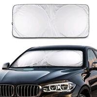 Front Rear Windshield Car Window Foldable Sun Shade Shield Cover UV Block Visor