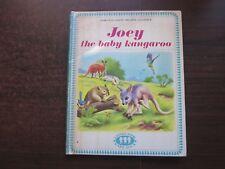 JOEY THE BABY KANGAROO Marcelle Verite Vintage 1970's Panda Hardcover Book