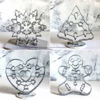 Christmas Tree Snowflake Biscuit Cookie Cutter Cake Decor Baking Mold Mould Tool