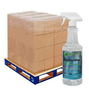 GreenFist Peroxide Cleaner Peroxistar Ready to Use 1 Skid (480 X 1 Quart)