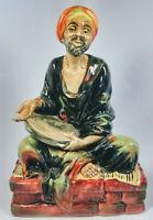 "Vintage Royal Doulton England Mendicant Harradine HN1365 Porcelain Figure 8.25"""