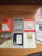 Lot Of Sacred Holy Sheet Music And Song Books + Christmas
