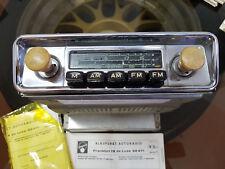 AUTO D'EPOCA AUTORADIO BLAUPUNKT Francoforte DE LUXE 32471 in 6 - 12 Volt TUBI RADIO
