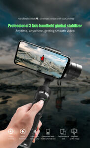 3 Axis Professional Handheld Mobile phone Gimbal Stabilizer Smart phone UK stock