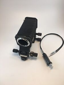 Canon Auto Bellows (FD Mount) w/ Dual Cable Release, No Box - VERY CLEAN!
