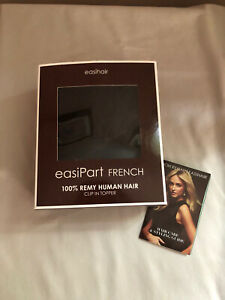 """Jon Renau EasiPart French 12"""" Remy Human HairTopper"""