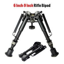 6-9 Inch Foldable Sniper Hunting Rifle Bipod Sling Swivel Shooting Gun Mount