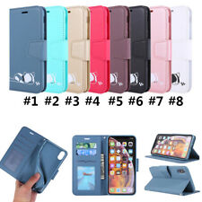 Phone Case PU Leather Flip Wallet Stand Cover For iPhone 11 Max 6 XR SE 7 (2020)