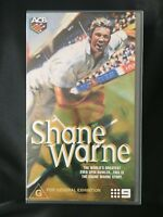 SHANE WARNE THE WORLDS GREATEST EVER SPIN BOWLER ~ AUSTRALIA ~ AS NEW VHS VIDEO