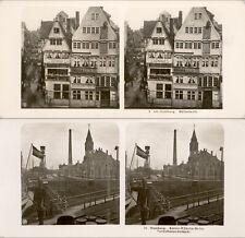 20 Stereoviews Amburgo in Germany - 1906 lot 1
