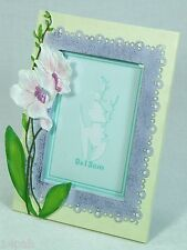 """Orchid design Photo Frame Fits a 5"""" x 3.5"""" Photo PFR2231 NEW **LAST ONE**"""