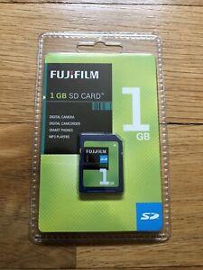 Fujifilm 1GB SD Memory Card New