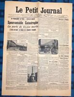 La Une Du Journal Le Petit Journal 30 Décembre 1908 La Catastrophe De Messine