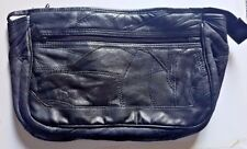 Men's Leather Toiletry Bag with 2 pockets