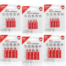 Circuit City 12 AA & 12 AAA Enhanced Performance Alkaline Batteries (24 Total)