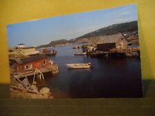 Typical Outport Newfoundland Scene Postcard