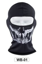 Ghost Skull Mask Skeleton Paintball Costume Army Balaclava Bicycle WB01