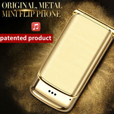 Bluetooth Unlock Folding Flip Dual Sim GSM Simple Use Mobile Phone Anti-lost
