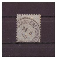 NDP, MiNr. 5 K 1 Neustadt Eberswalde 24.3.1869
