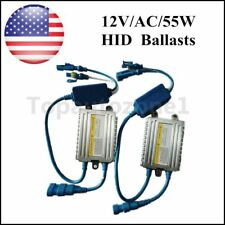 2* AC Quick Start Fast Bright slim HID Digital Ballasts 55W 12V Replacement US