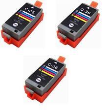 Compatible Ink for Canon CLI-36 CLI 36 Color PIXMA ip100 mini260 mini320 3pks