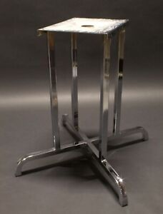 Vintage Mid Century Chrome Dining Room Table Base