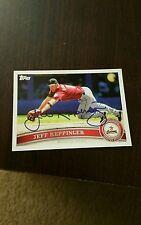 Houston Astro Jeff Keppinger Autograph Baseball Card
