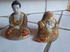 lot 2 statuettes asiatique asie chine bouddha