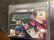 Star Fox 64 (Nintendo 64, 1997) N64 VGA 85 Graded Silver Sealed
