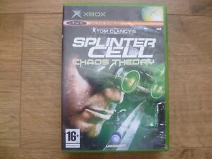 Xbox Game, Splinter Cell Chaos Theory, Complete