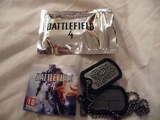 Battlefield 4 Dog Tags neuf dans sac complet avec code promo envoi gratuit