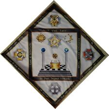 Unique The altar tablecloth Masonic Degrees N6 - 28,29,30,31,32
