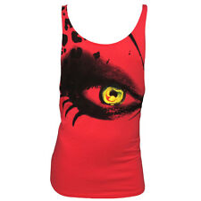 OFFICIAL La Troya Ibiza Men's Muscle Vest Tank Red Eye Print Top Amnesia RRP £40