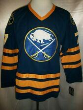 "Rick Martin Buffalo Sabres Blue ""1983-1996 Throwback"" CCM NHL Jersey Large"