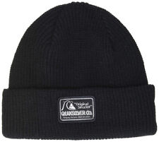 Quiksilver Performed Patch Cuff Beanie for Boys Black
