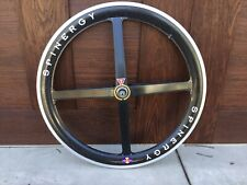 """Spinergy 26"""" Rev X Roks Mountain Bike Bicycle Carbon Front Wheel Vintage"""