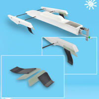 RC Pro Boat  Epoxy Fiber glass FRP Outrigger Hydroplane Racer  Hull