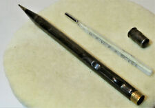 m145_PORTAMINE ANTICO da Medico con termometro  - Vintage Argento 800