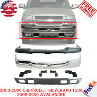 Partslink GM1000680 Multiple Manufacturers OE Replacement Bumper Cover Chevrolet Avalanche 2003-2006